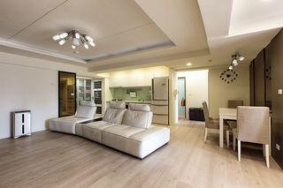 现代宜家风格二居装饰设计图