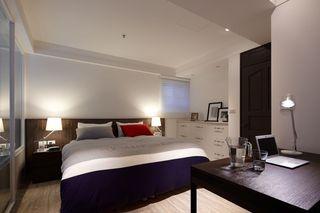 极简美式家居卧室效果图