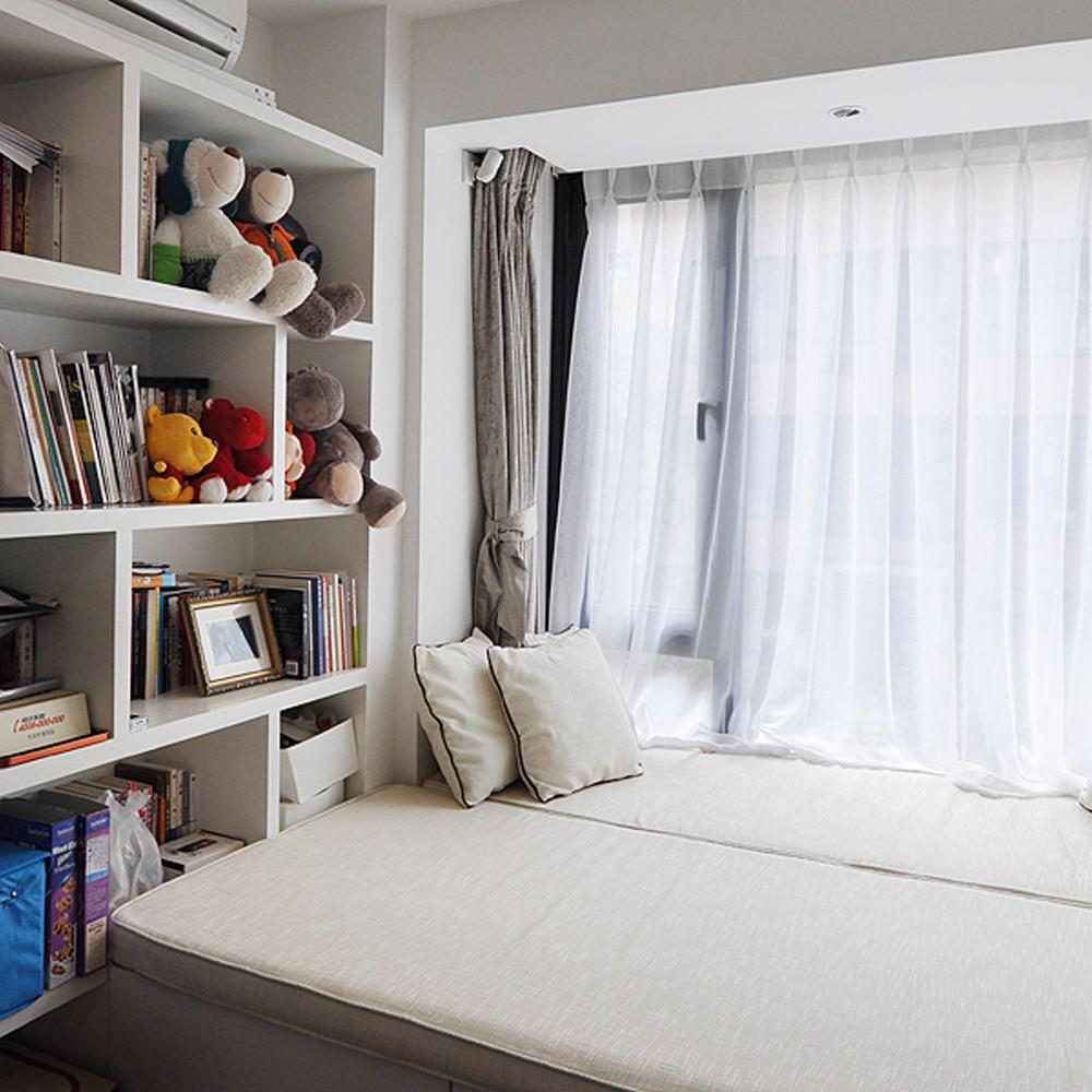 舒适日式儿童房榻榻米飘窗效果图