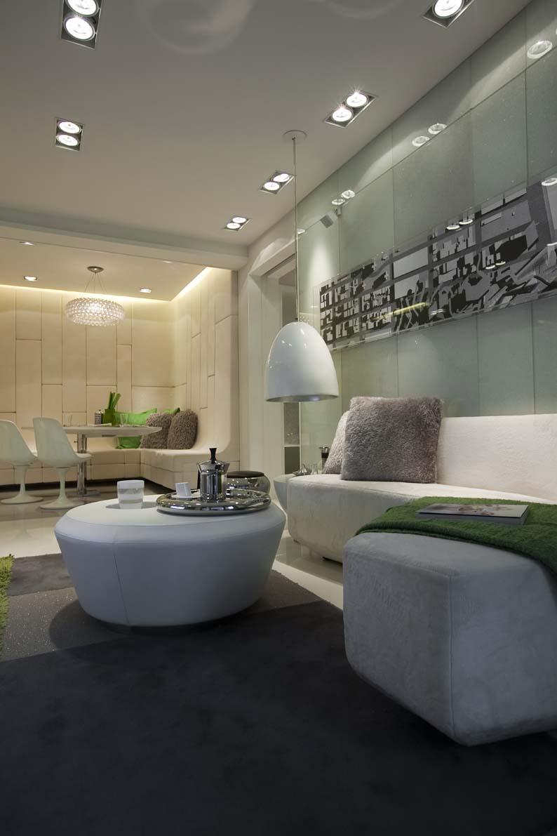 时尚现代简约风 客厅相片墙效果图