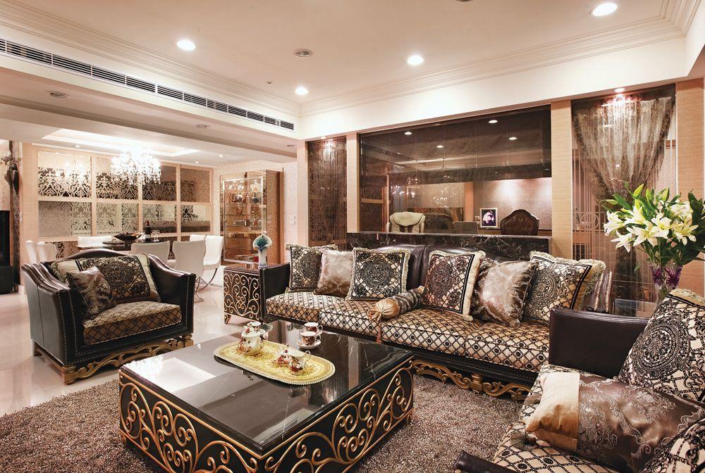 古典欧式风客厅沙发效果图
