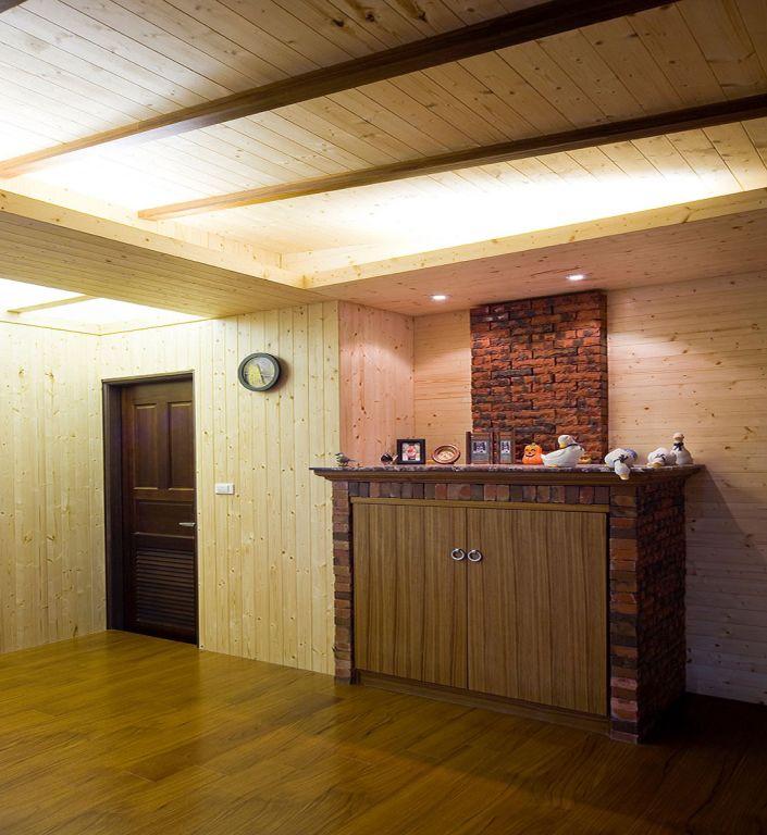 日式玄关 艺术装饰台设计