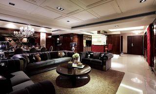 美式新古典主义 公寓四居效果图
