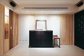 宜家美式玄关装饰柜欣赏