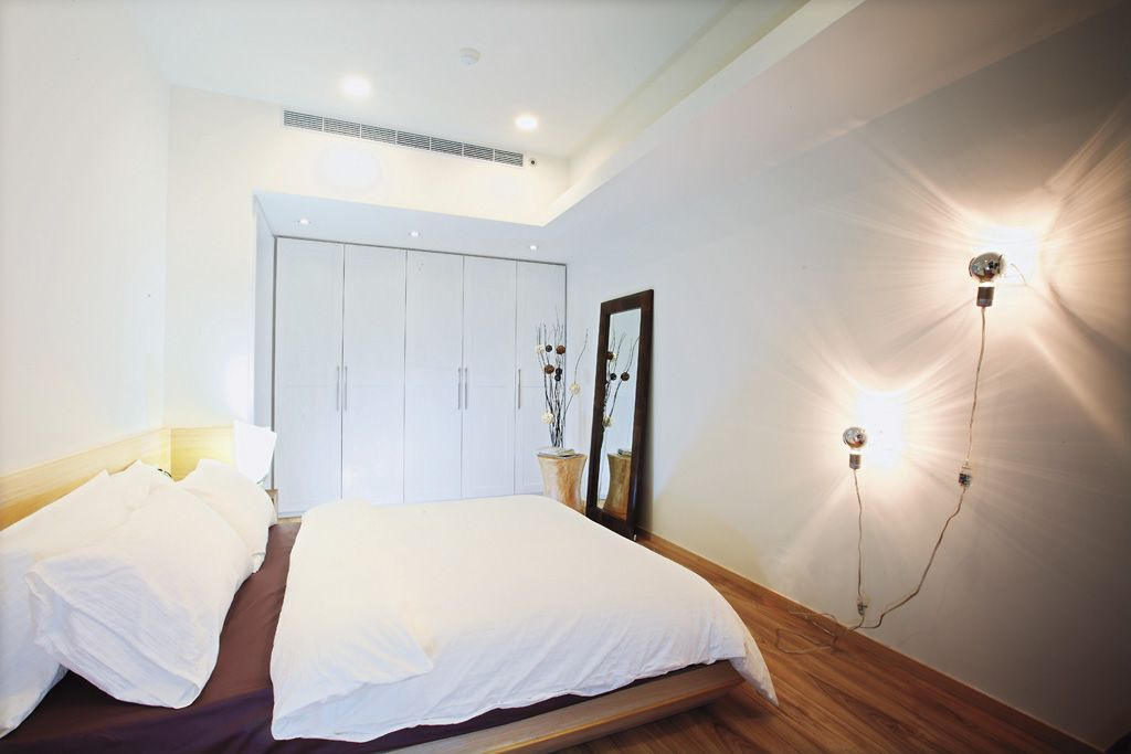 宜家二居卧室灯具设计