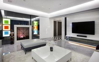 梦幻简约客厅背景墙设计