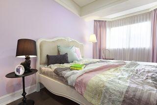 浪漫紫简欧风卧室美宅欣赏