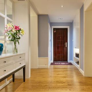 美式风格二居室玄关设计效果图