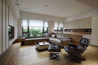 时尚现代简约风格客厅吊顶设计