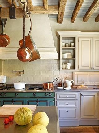 美式乡村厨房橱柜设计