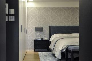 现代简欧风卧室 时尚背景墙欣赏