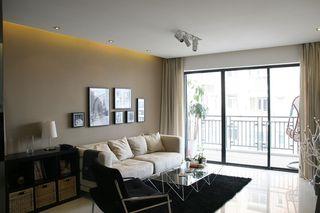 现代简约62平小二居装修设计