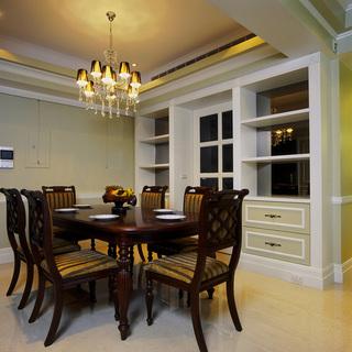 时尚混搭两室两厅黄色家装图