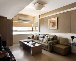 两室两厅美式风格装修图