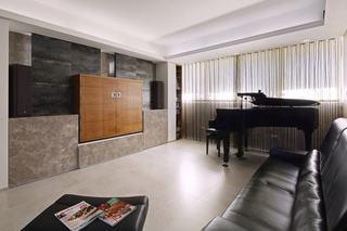 簡約130平米三居室裝潢借鑒圖
