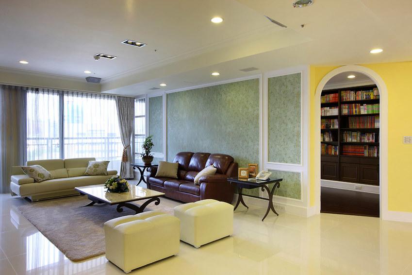 现代田园风 公寓室内装潢美图欣赏