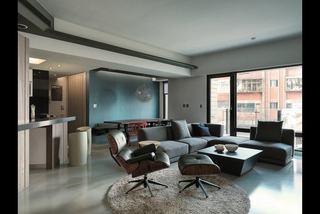 黑色风情后现代公寓装饰设计
