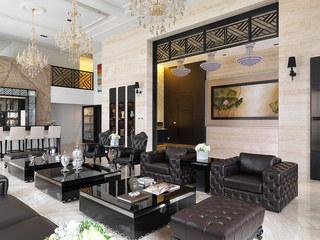 现代豪华别墅室内家具配置
