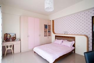 粉嫩现代家居儿童房设计