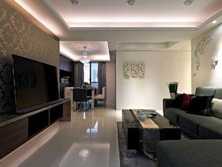 现代80平两室两厅装修图