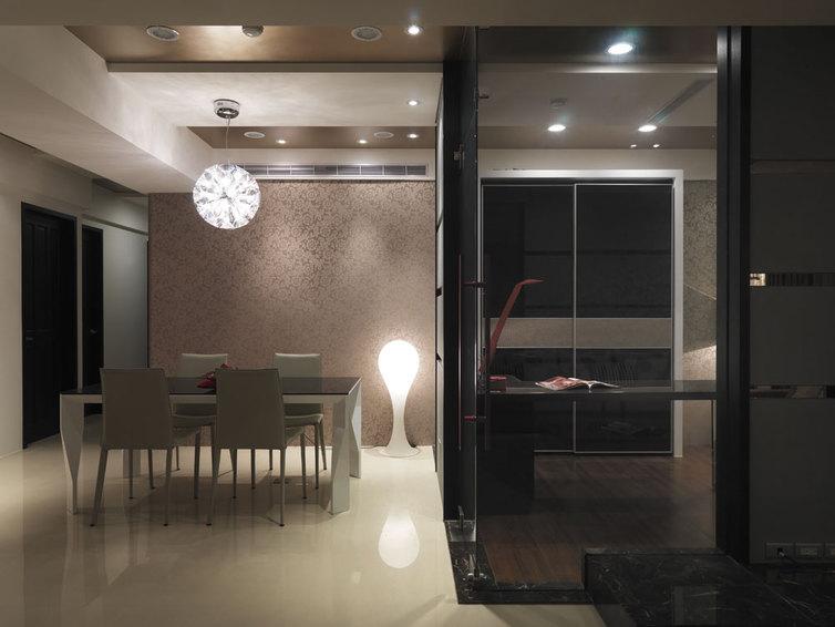 现代家装餐厅灯饰欣赏