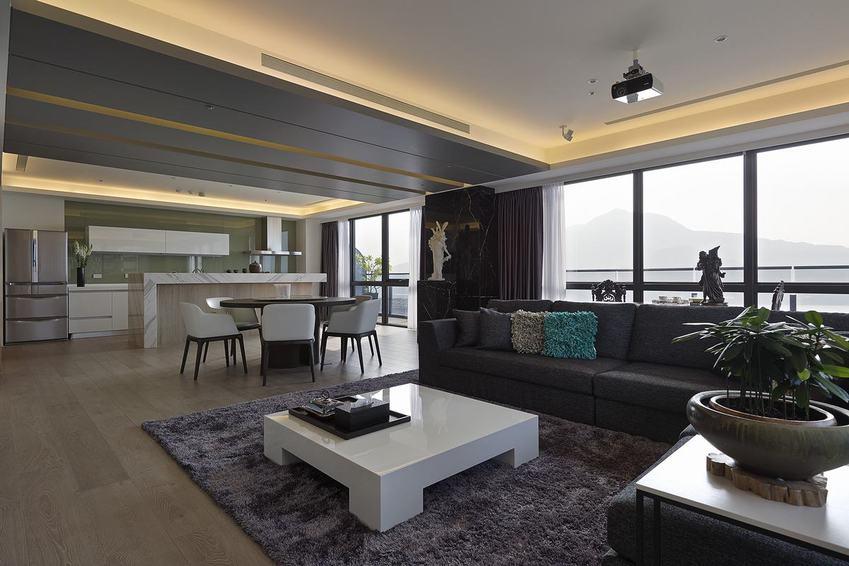 最新现代146平公寓家装欣赏