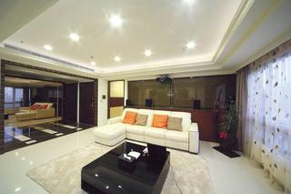 中性暖色美式三居设计图