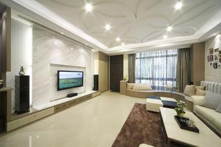 现代豪华别墅客厅装修设计