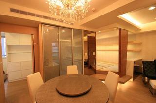 暖咖色日式 温馨小公寓效果图
