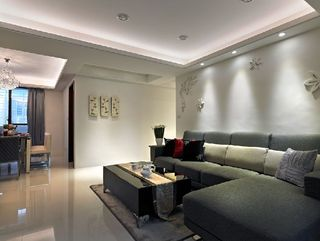 15萬打造現代三室兩廳效果圖