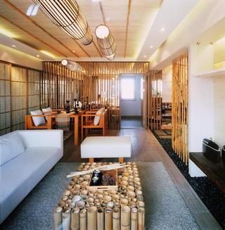 日式和风客餐厅效果图