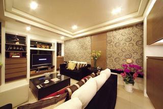 中性暖色调美式复式楼欣赏