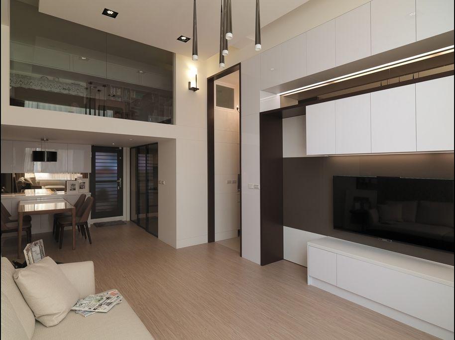 时尚现代简约风 复式家居设计