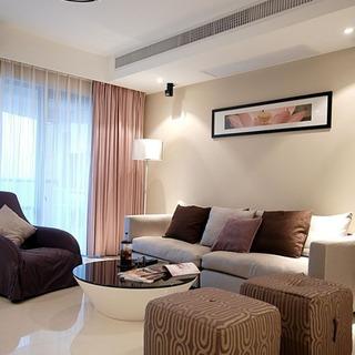时尚温馨宜家风 客厅布艺沙发设计