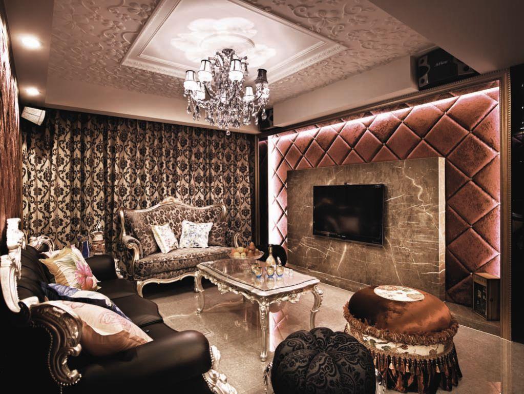 精致古典欧式客厅吊顶效果欣赏图
