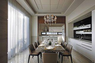 精美后现代混搭餐厅设计