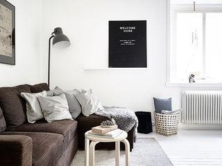 简约北欧风客厅沙发效果图