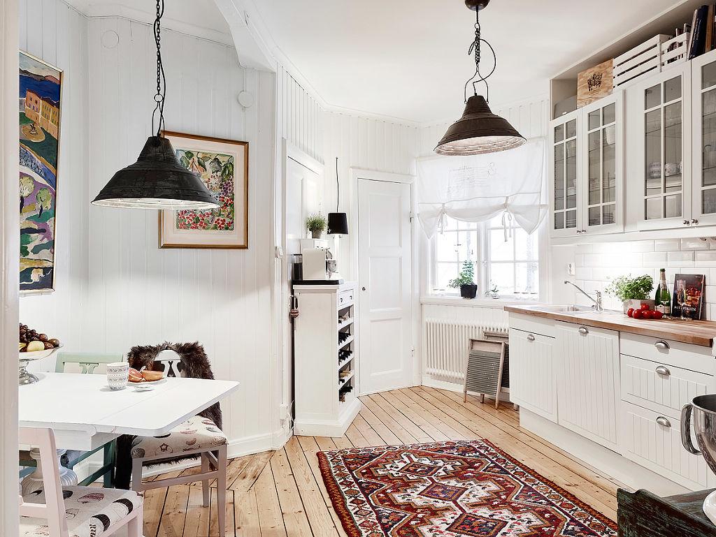 浪漫北欧民族风 开放式厨房设计