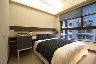 现代简约装修卧室窗户设计