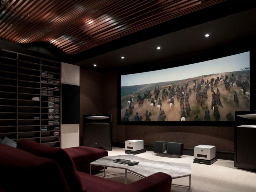 时尚摩登现代风 家庭影院设计