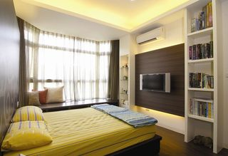时尚优雅简约卧室设计装潢案例图