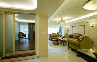清新古典欧式风格家居室内隔断装修图
