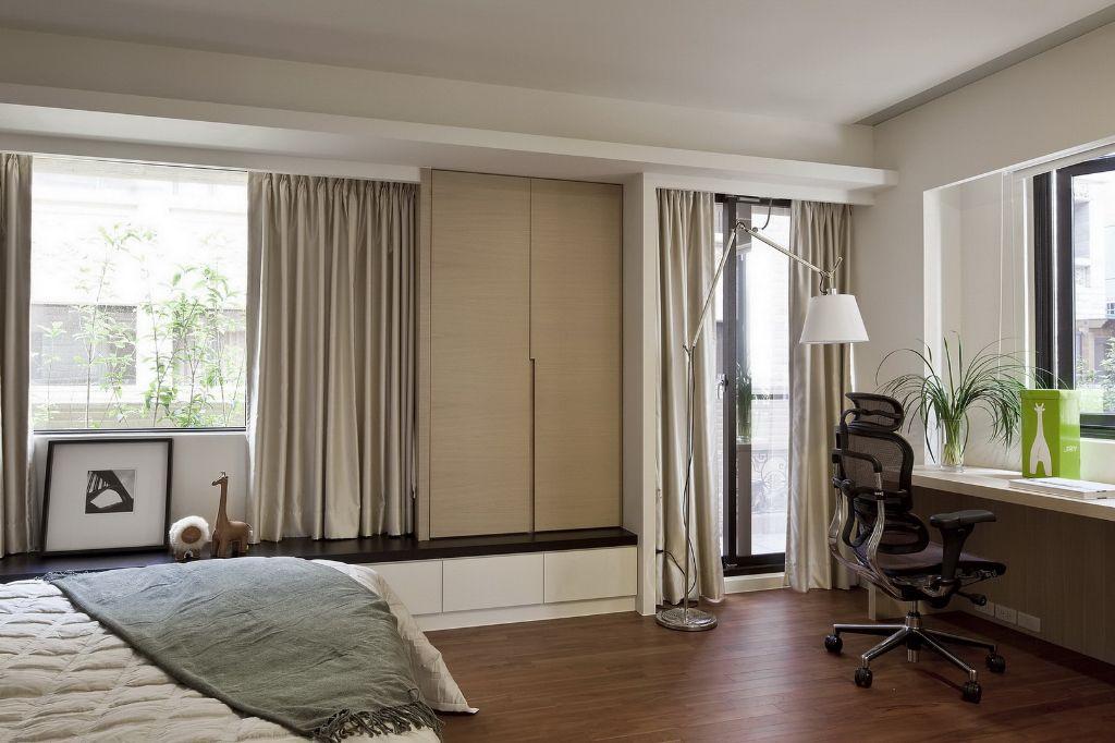 时尚简约设计 窗帘效果图