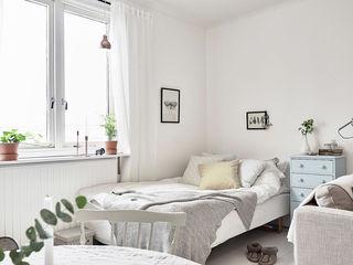 极简北欧风格卧室效果图