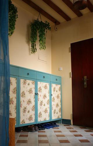 地中海装饰风格入门玄关鞋柜设计