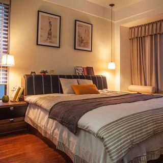 混搭二居卧室软装搭配