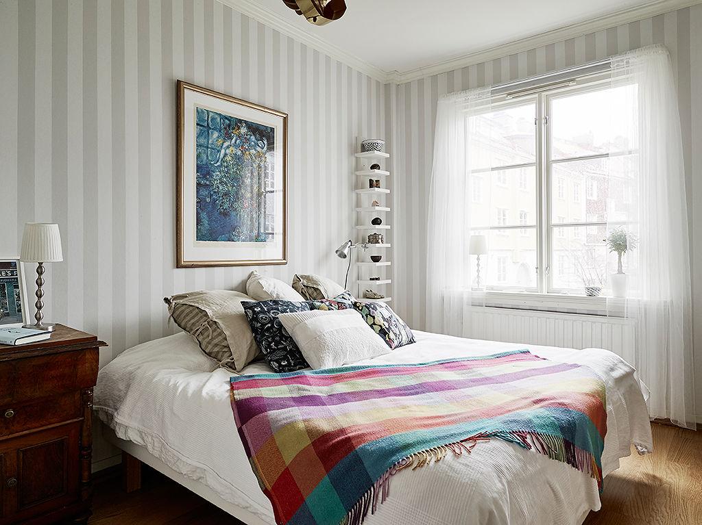 清新北欧风情 卧室装饰画设计