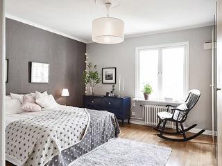 简洁北欧卧室窗台设计