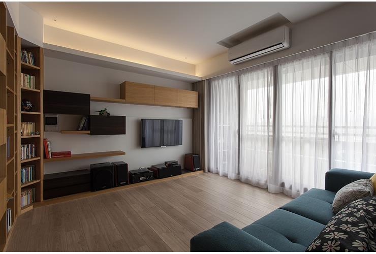 简约现代日式风格公寓室内设计装潢图