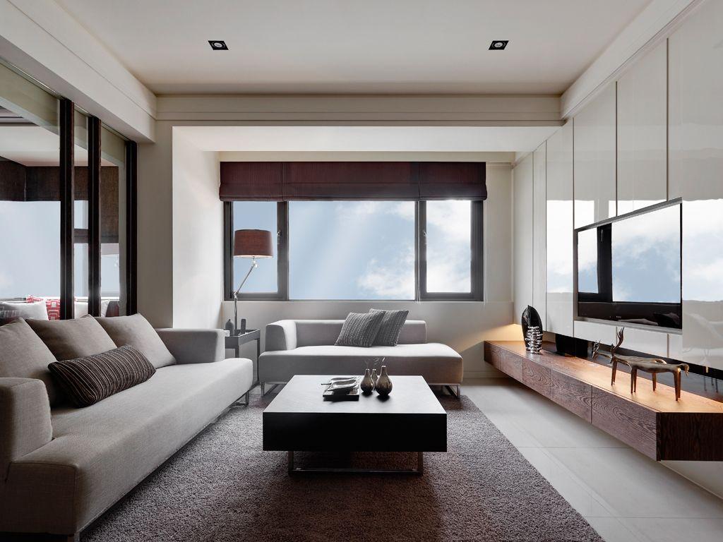 时尚现代家居客厅装修效果图